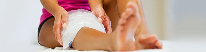 Heat and Ice pain relief at home